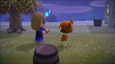 Animal Crossing New Horizons (ACNH) Give candy to villager.jpg