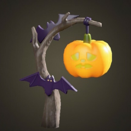 Spooky Standing Lamp Icon