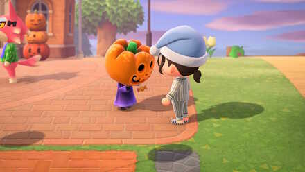 Animal Crossing New Horizons (ACNH) Give Jack candy