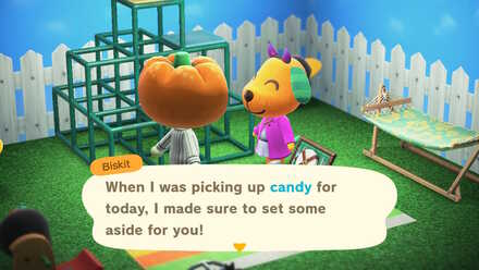 ACNH - Get Candy from Villagers