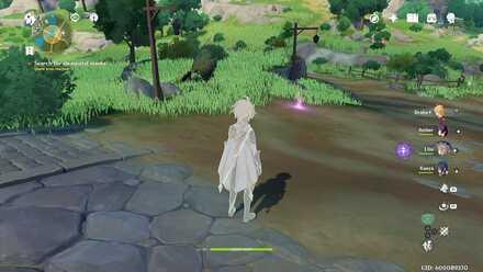 Genshin Impact - Find next elemental trace after the bridge