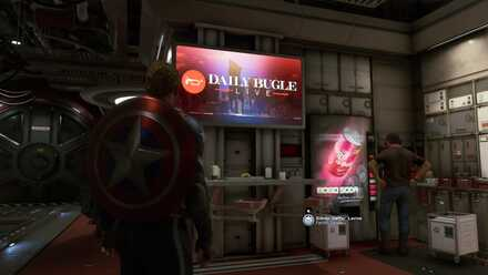 Avengers The Daily Bugle