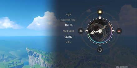 Genshin Impact - Change In-Game Time