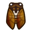 Brown Cicada Image