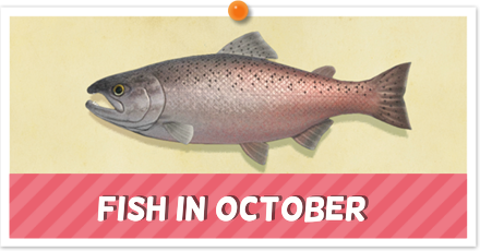 Animal Crossing New Horizons (ACNH) Fish September
