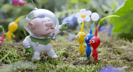 Pikmin Behavior