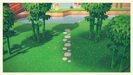 ACNH - Stepping Stones Resulting Look