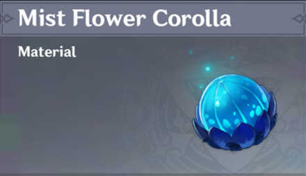 How to Get Mist Flower Corolla and Effects