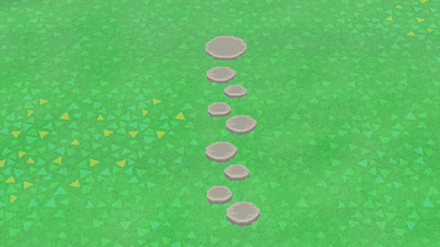 ACNH - Japanese Style Stepping Stones