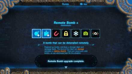 BOTW - Master Mode Upgrade Bomb 2