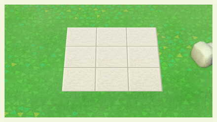 Animal Crossing New Horizons (ACNH) How to Make Large Stone Tile and Slabs