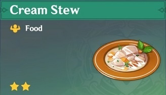 How to Get Cream Stew and Effects