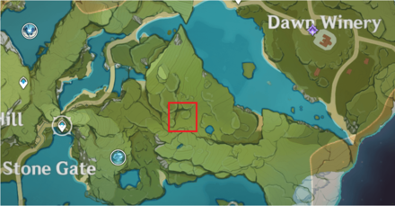 Radish Location - Near Dawn Winery.png