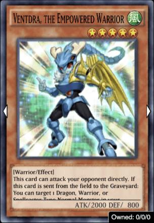 Ventdra the Empowered Warrior
