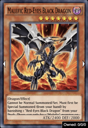 Malefic Red-Eyes Black Dragon