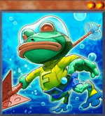 Submarine Frog
