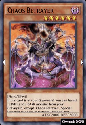 Chaos Betrayer
