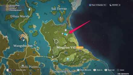 North of Mingyun Village Agent Location.jpg