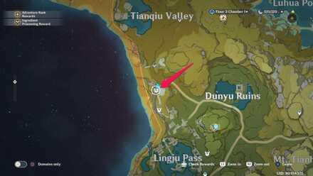 East Dunyu Ruins Agent Location.jpg