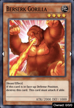 Berserk Gorilla