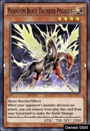 Phantom Beast Thunder Pegasus