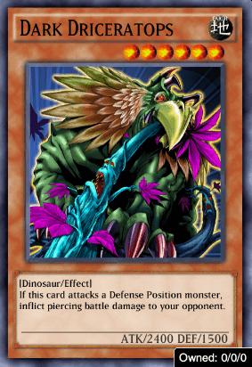 Dark Driceratops