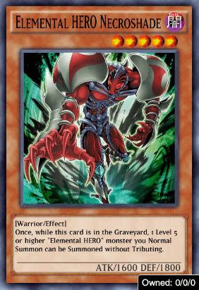 Elemental HERO Necroshade