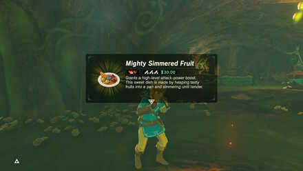 BOTW - Mighty Simmered Fruit Dragon Horn Boost
