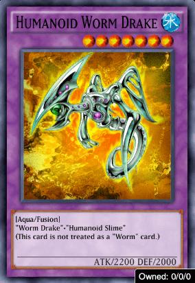 Humanoid Worm Drake