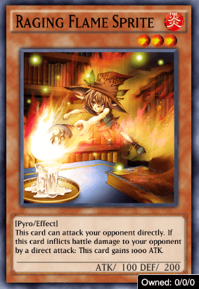 Raging Flame Sprite