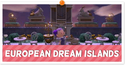 ACNH - Europe-Themed Dream Towns