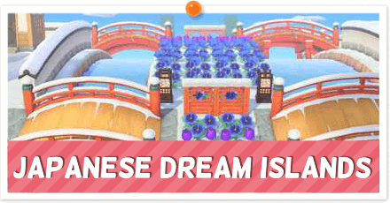 ACNH - Japanese-Themed Dream Towns