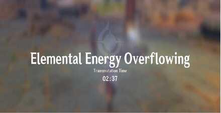 elemental energy overflowing