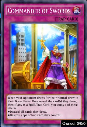 Commander of Swords