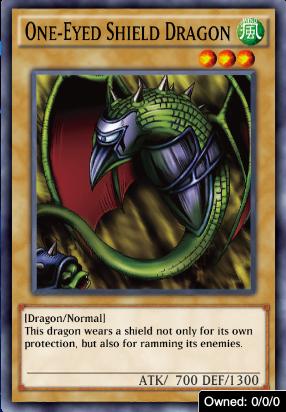 One -Eyed  Shield Dragon