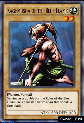 Kagemusha of the Blue Flame
