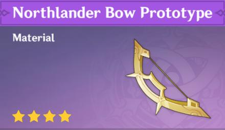 Genshin - Northlander Bow Prototype