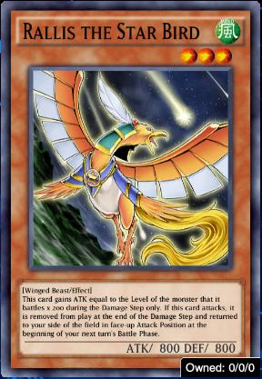Rallis the Star Bird