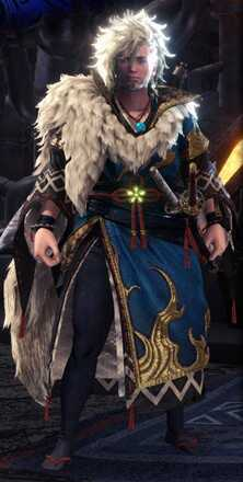 Azure Age Alpha + Armor Set
