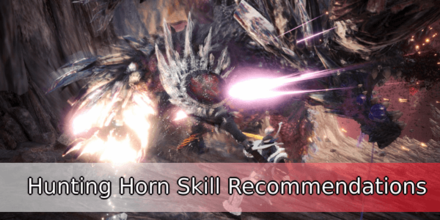 Hunting Horn Skill Recommendations