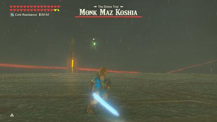 BOTW - Monk Maz Koshia Boss Guide Phase 1 Arrows