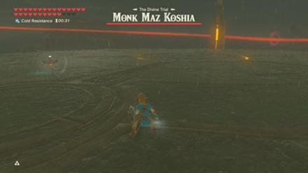 BOTW - Monk Maz Koshia Boss Guide Phase 1 Rush Attack