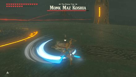 BOTW - Monk Maz Koshia Boss Guide Phase 1 Flash Step Strike