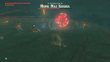 BOTW - Monk Maz Koshia Boss Guide Phase 2 Overwhelm