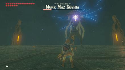 BOTW - Monk Maz Koshia Boss Guide Phase 3 Guardian Laser