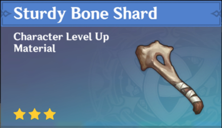 How to Get Sturdy Bone Shard and Effects
