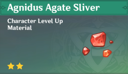 How to Get Agnidus Agate Sliver and Effects