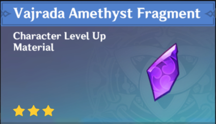 How to Get Vajrada Amethyst Fragment and Effects