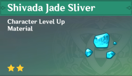 How to Get Shivada Jade Sliver and Effects