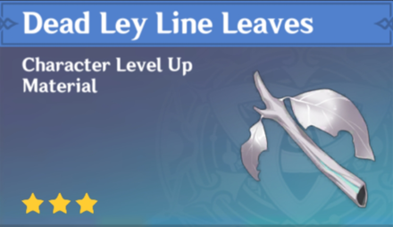 How to Get Dead Ley Line Leaves and Effects